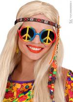 Deguisement Lunette Peace And Love Multi