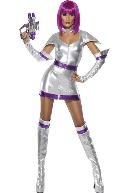 photo déguisement femme du futur