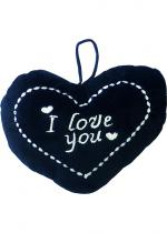 Deguisement Coeur Noir I Love You