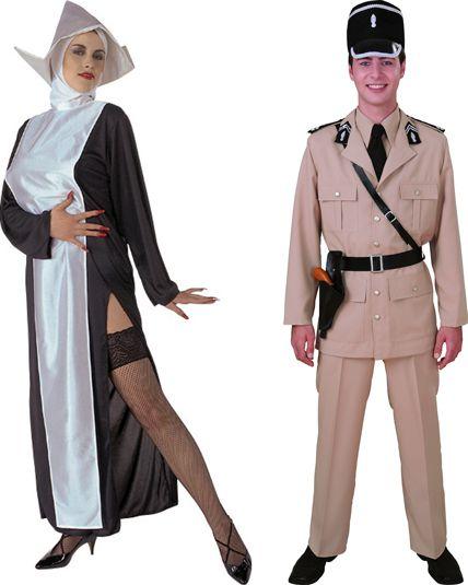couple gendarme st tropez deguisement adulte en couple le. Black Bedroom Furniture Sets. Home Design Ideas