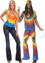 Deguisement Couple Tie Dye En Couple