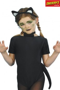 Set Chat Enfant Noir costume