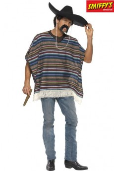 Authentique Poncho costume