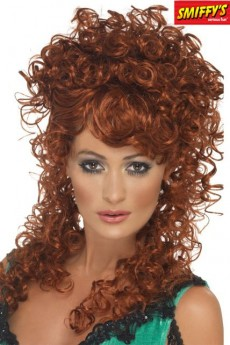 Perruque Saloon Girl costume