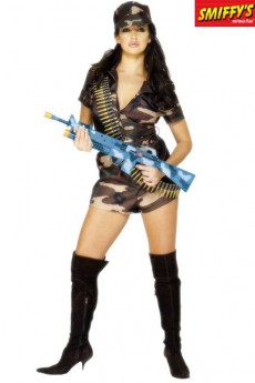 Déguisement Sexy Army Girl costume