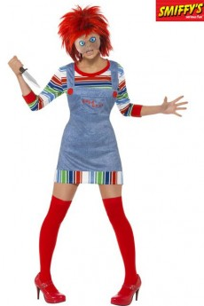 Déguisement Chucky Girl costume