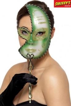 loup mardi gras vert masques carnavals loups le. Black Bedroom Furniture Sets. Home Design Ideas