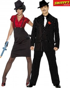 couple mafia al capone deguisement adulte en couple le. Black Bedroom Furniture Sets. Home Design Ideas