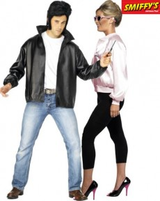 Couple Grease costume