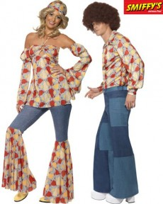 Couple Patchwork costume