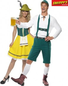 Couple Bavarois costume