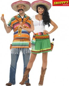 Couple Tequila Shooter costume