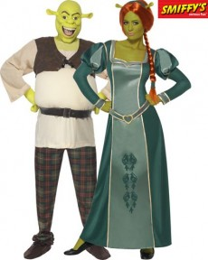 Couple Shrek Fiona costume