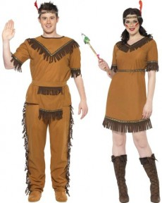 Couple Tribu Sioux costume