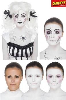 kit maquillage poup e morte maquillage halloween le. Black Bedroom Furniture Sets. Home Design Ideas