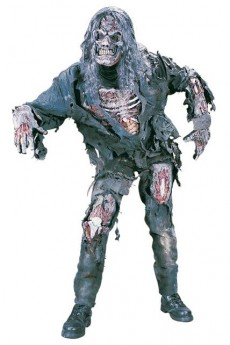 costume 3d zombie avec masque et cheveux taille standard Le