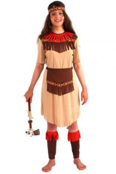 Costume Indienne Longue Fleche costume