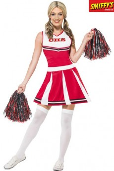 Déguisement De Pompom Girl USA costume