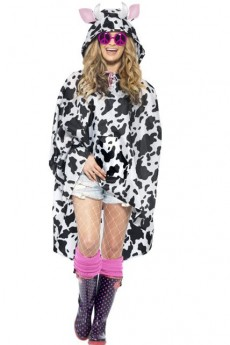 Poncho Party Vache Imperméable costume