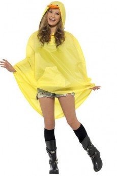Poncho Party Canard Imperméable costume