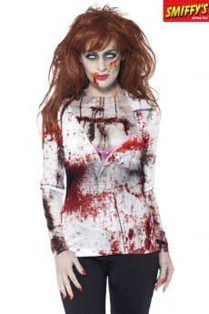 T Shirt Zombie Femme