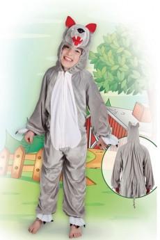 costume loup peluche d guisement enfant animaux le. Black Bedroom Furniture Sets. Home Design Ideas