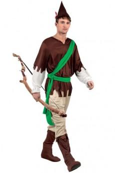 Robin Le Adulte Bois Déguisement Homme Costume Des D29EHIW
