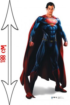 Figurine Géante Superman Man Of Steel accessoire