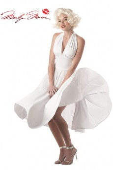 La Robe Marilyn Monroe costume