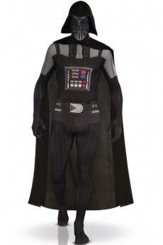 Seconde Peau Adulte Dark Vador costume