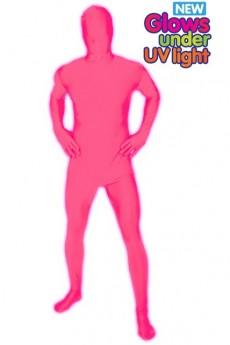 seconde peau rose qui brille dans le noir deguisement adulte homme le. Black Bedroom Furniture Sets. Home Design Ideas