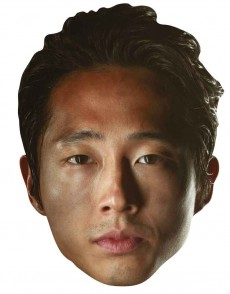 Masque Adulte Glen Rhee The Walking Dead accessoire
