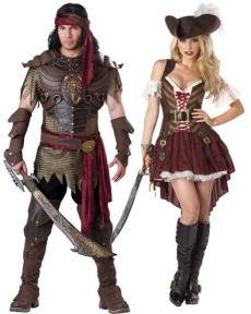 Couple De Pirate Scorpio  costume
