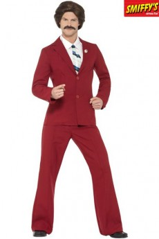 Déguisement Licence Anchorman Ron Burgundy costume