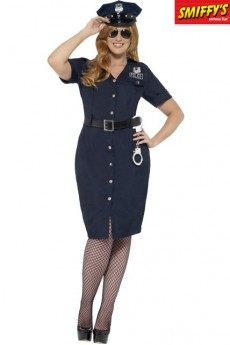 Déguisement Policière New York Grande Taille costume