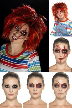 Kit Licence Maquillage Chucky costume