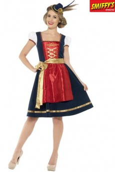 Déguisement Traditionnel Claudia Dirndl Luxe costume