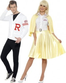 Couple Grease Rydell Prep et Sandy costume