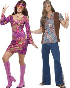 Couple Orion Les Hippies costume