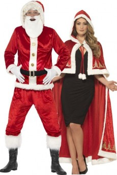 Le couple De Noël costume