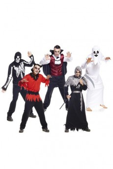 Lot De 20 Déguisements Halloween Homme costume