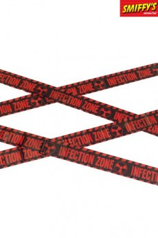 Ruban Zombie Infection Zone Caution accessoire