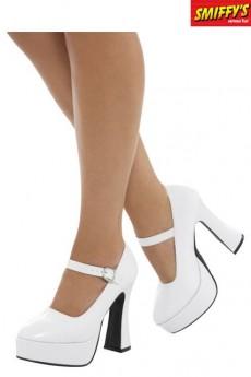 chaussures compens es femme ann es 70 accessoires chaussures et chaussettes le. Black Bedroom Furniture Sets. Home Design Ideas