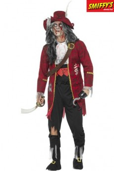 Déguisement Capitaine Pirate Zombie costume