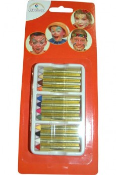 Lot 12 Crayons Maquillage accessoire