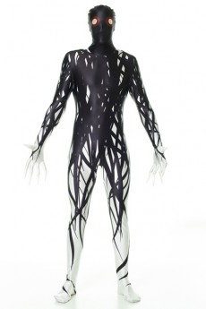 Seconde Peau Morphsuit Zalgo costume