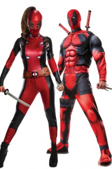 Couple Deadpool costume