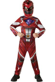Déguisement Enfant Power Ranger Rouge costume
