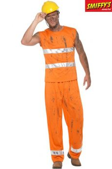 Déguisement Adulte Mineur Orange costume