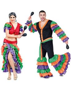 Couple Rio Carnaval costume